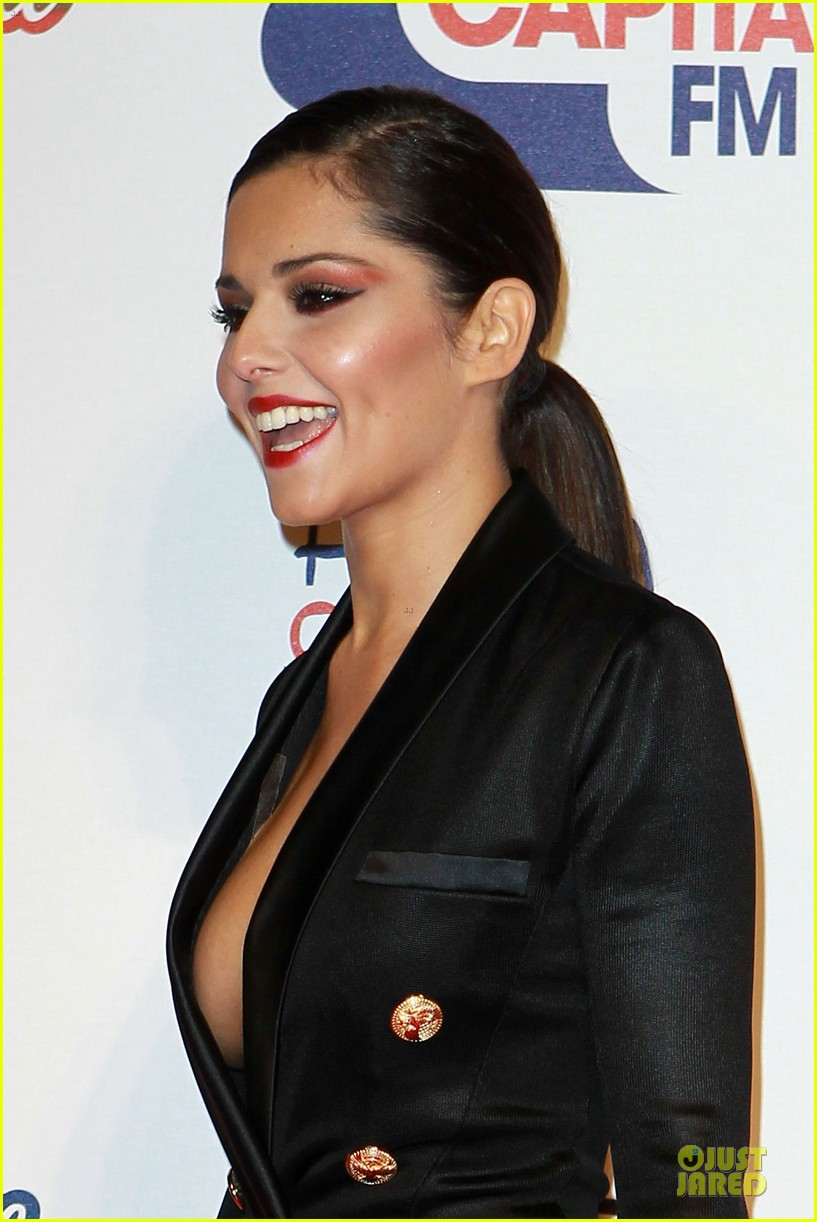 cheryl cole jingle bell ball attendee 062772580