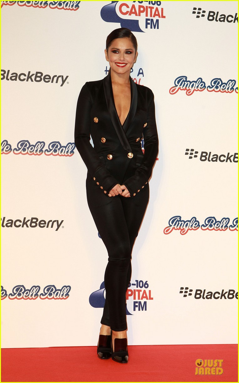cheryl cole jingle bell ball attendee 11