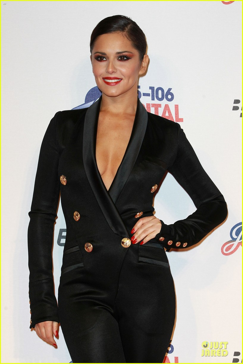 cheryl cole jingle bell ball attendee 15