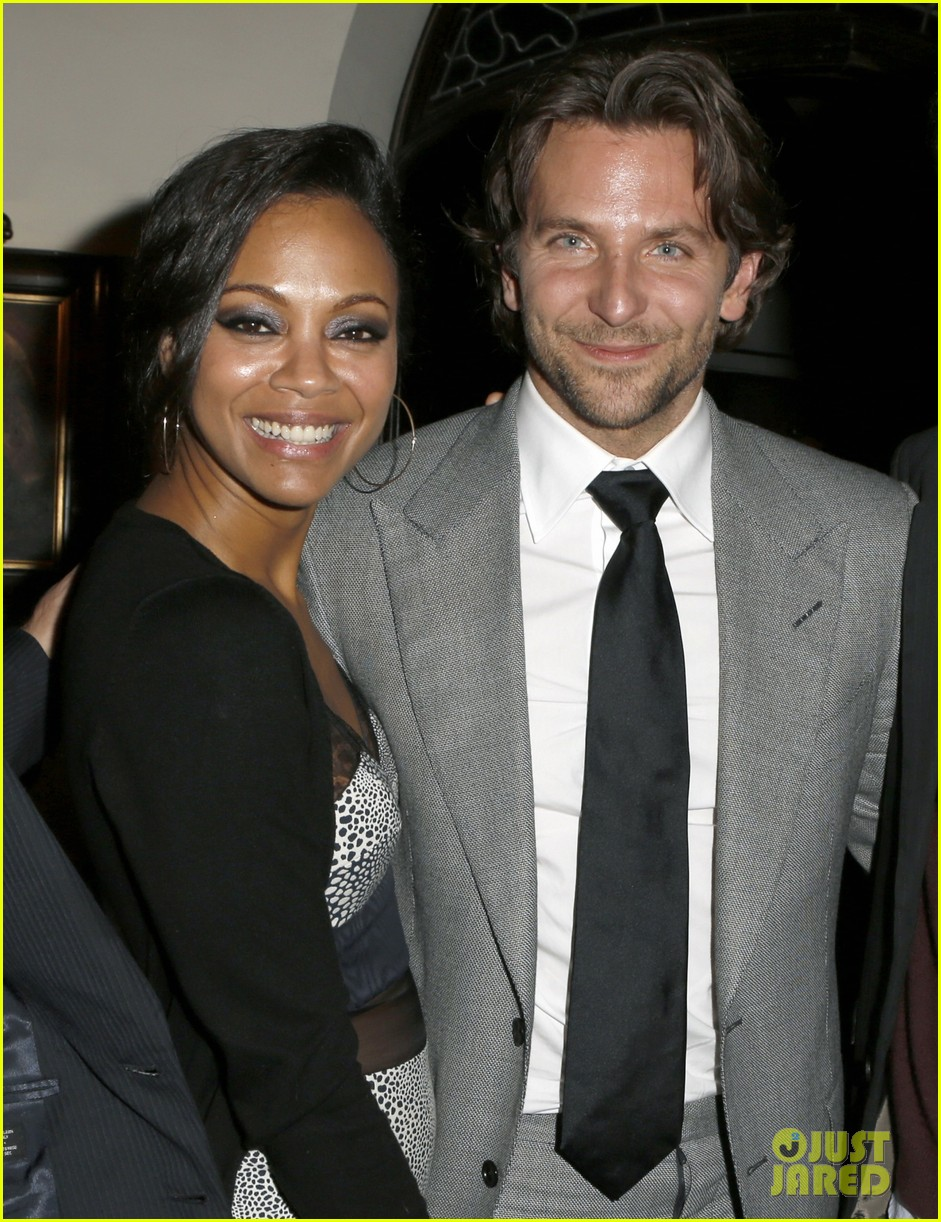 bradley cooper zoe saldana silver linings playbook special event 02