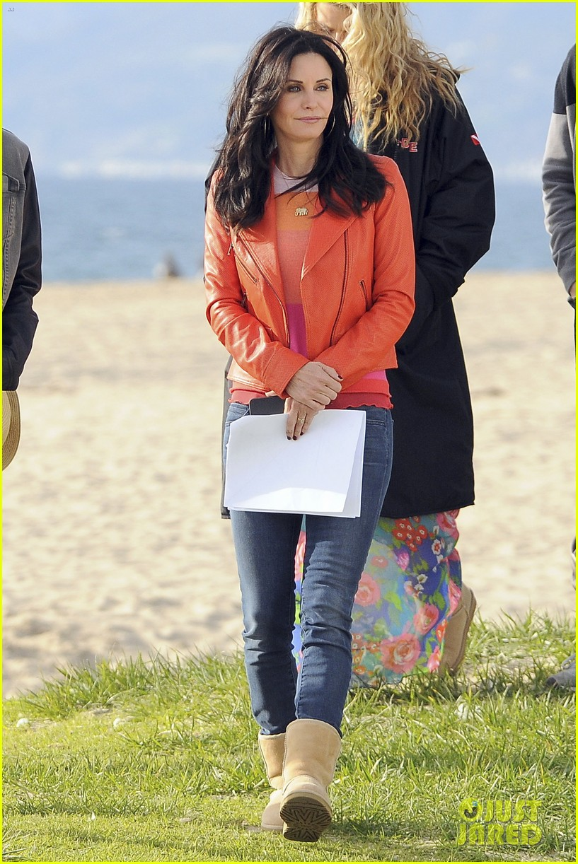 courteney cox cougar town filming 18