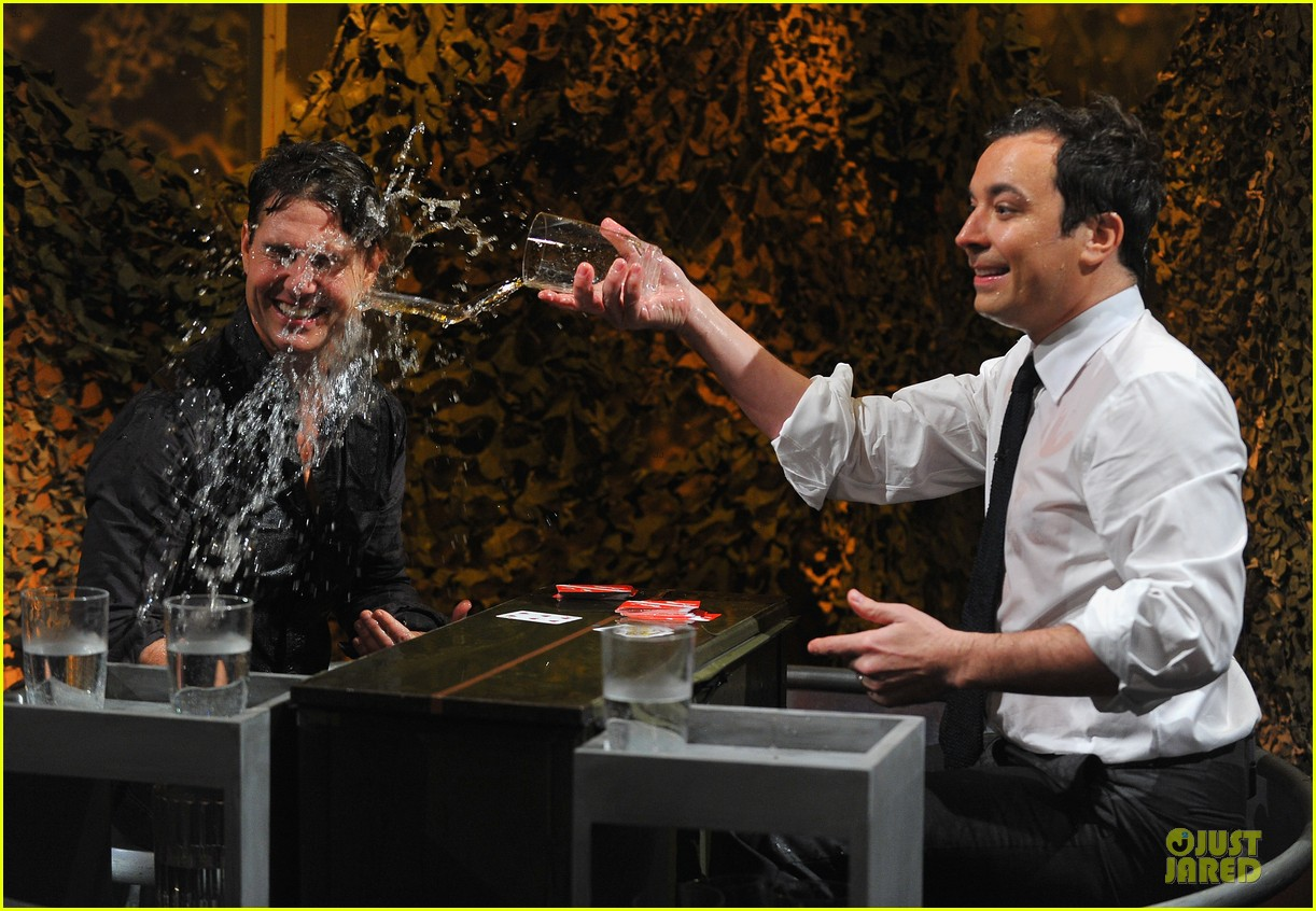 tom cruise water war with jimmy fallon 05