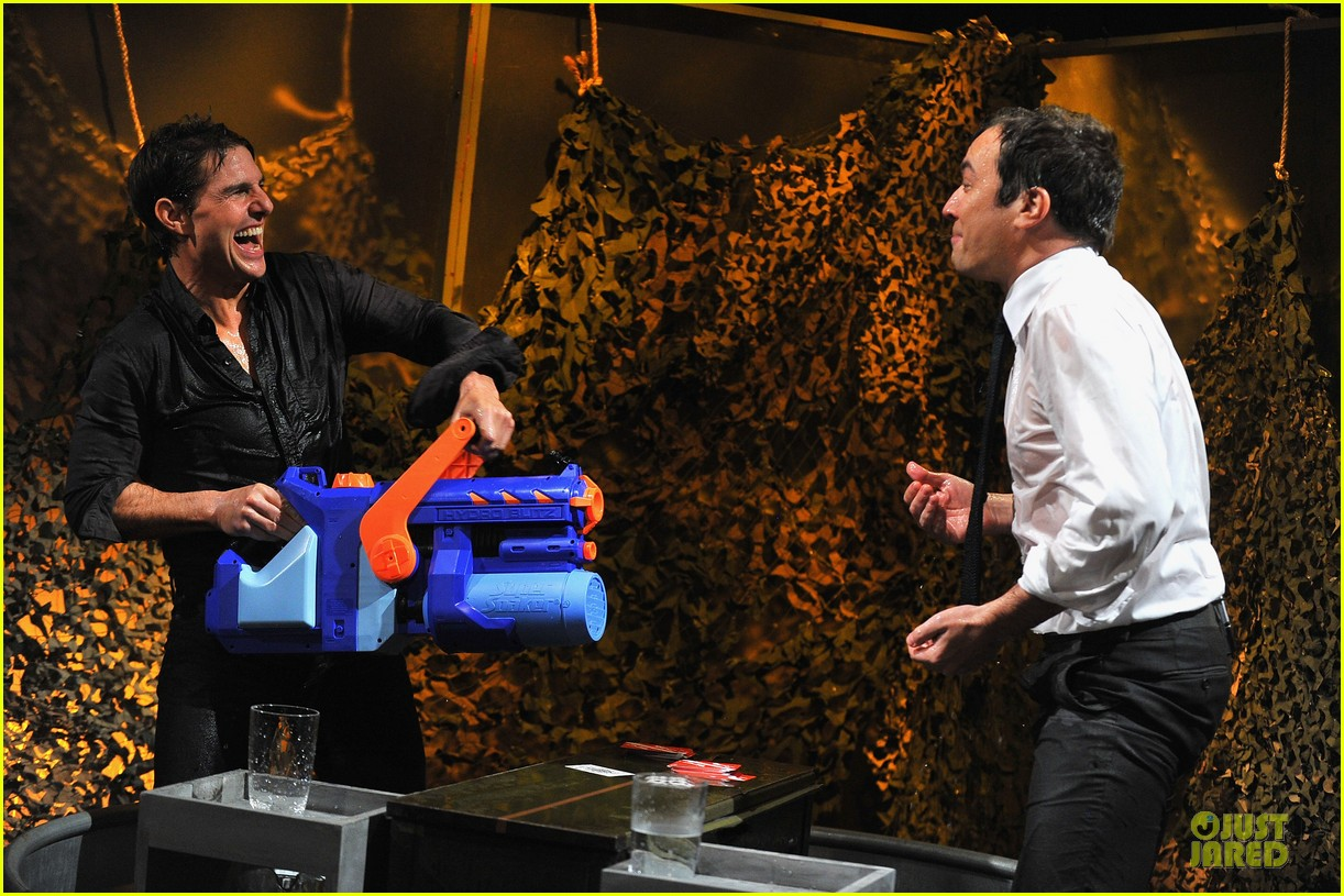 tom cruise water war with jimmy fallon 12