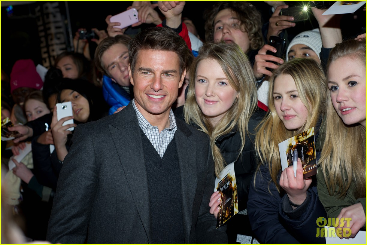 tom cruise jack reacher stockholm premiere 11