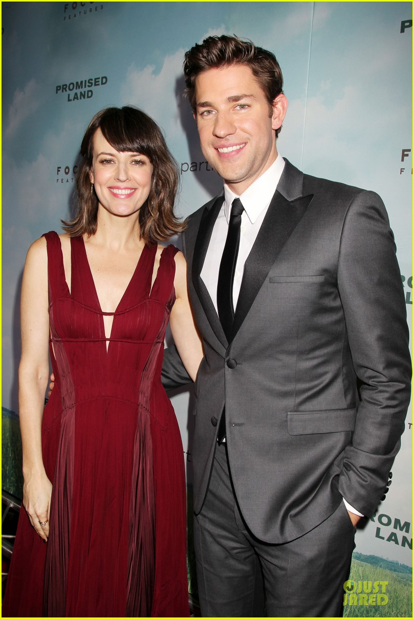 matt damon john krasinski promised land new york premiere 12