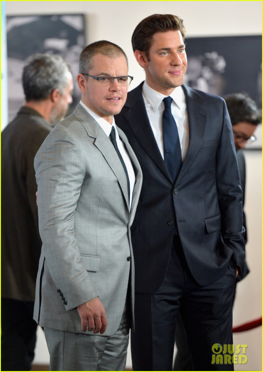 matt damon john krasinski promised land premiere 062771070