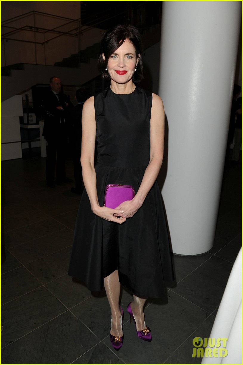 michelle dockery elizabeth mcgovern downton abbey evening 012773743