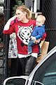 hilary duff babys first class with luca 27