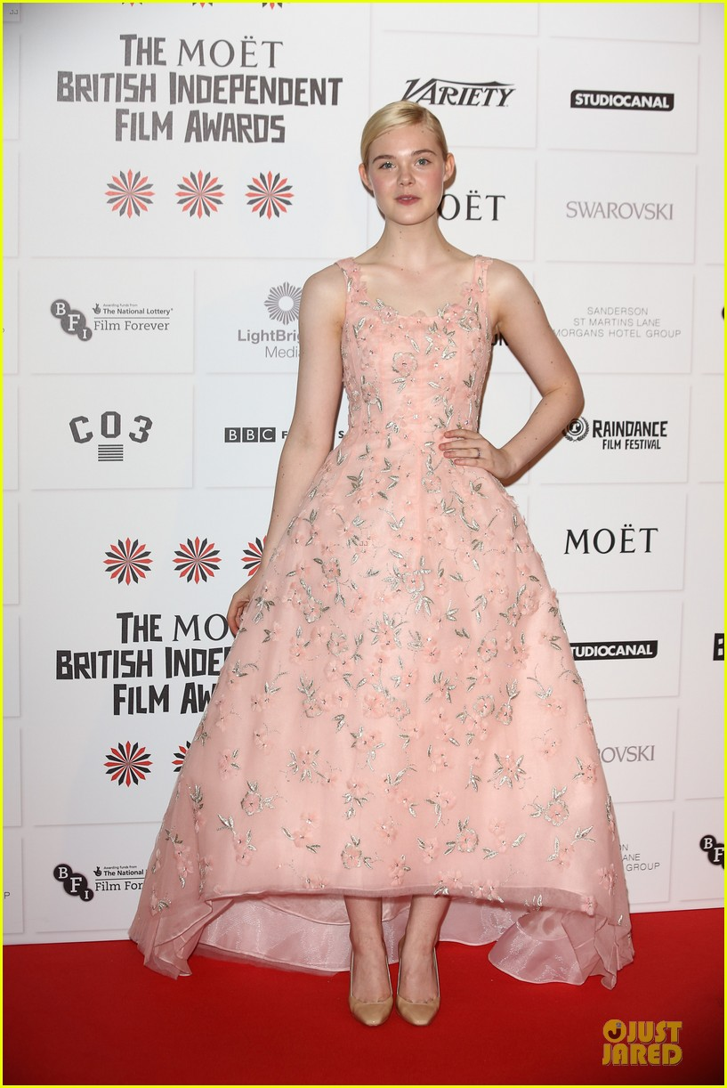 elle fanning & felicity jones british independent film awards 2012 07