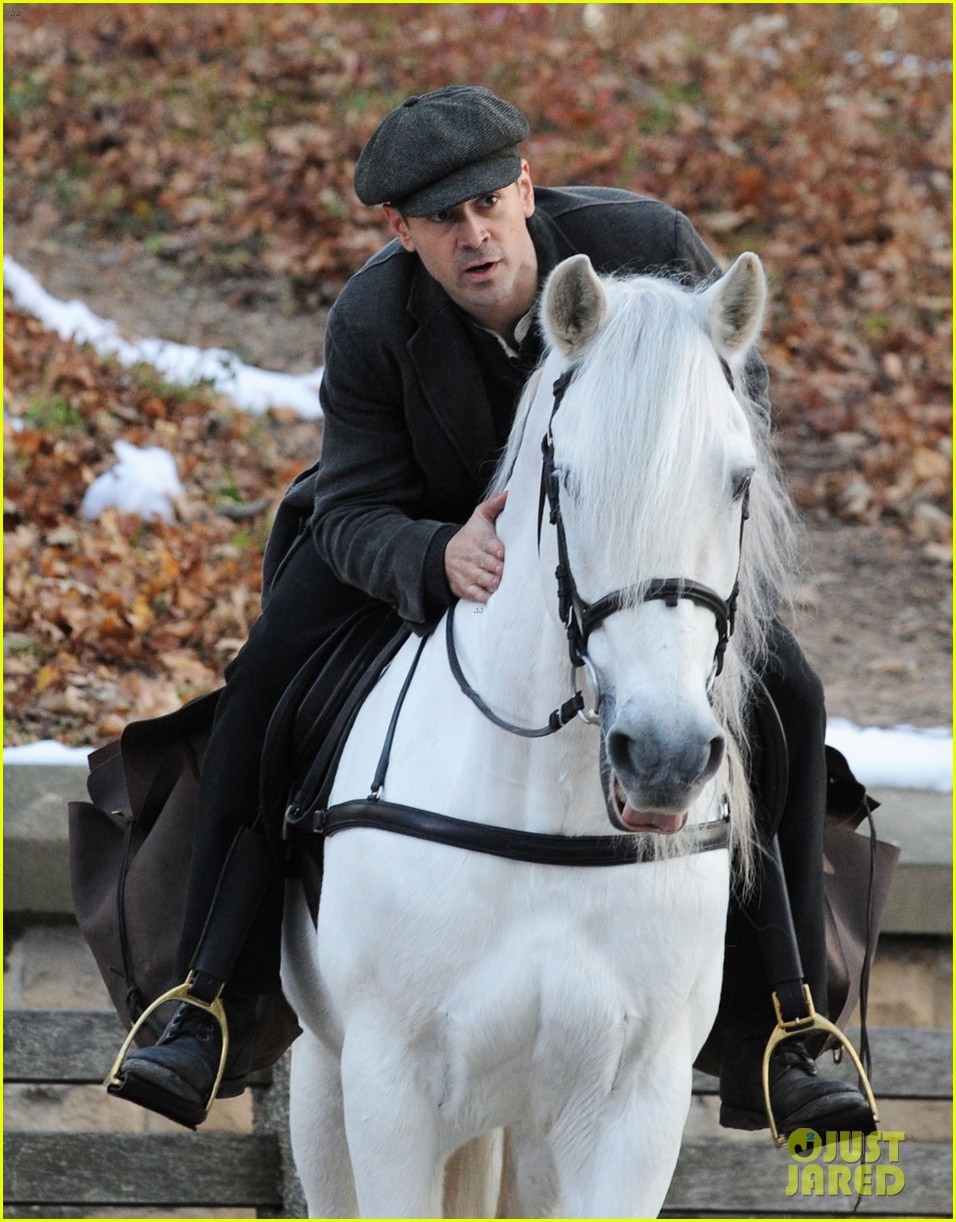colin farrell horseback riding 33