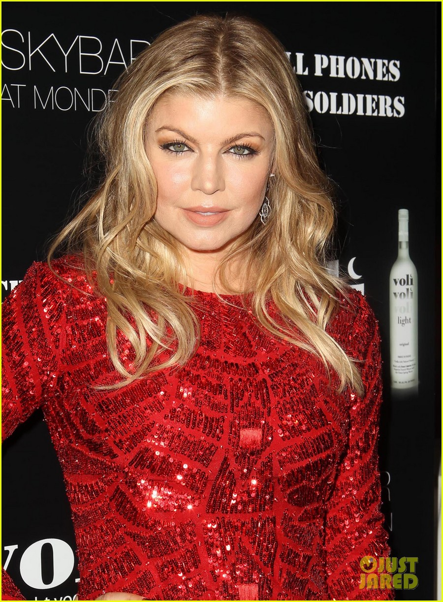 fergie charity holiday party host 12