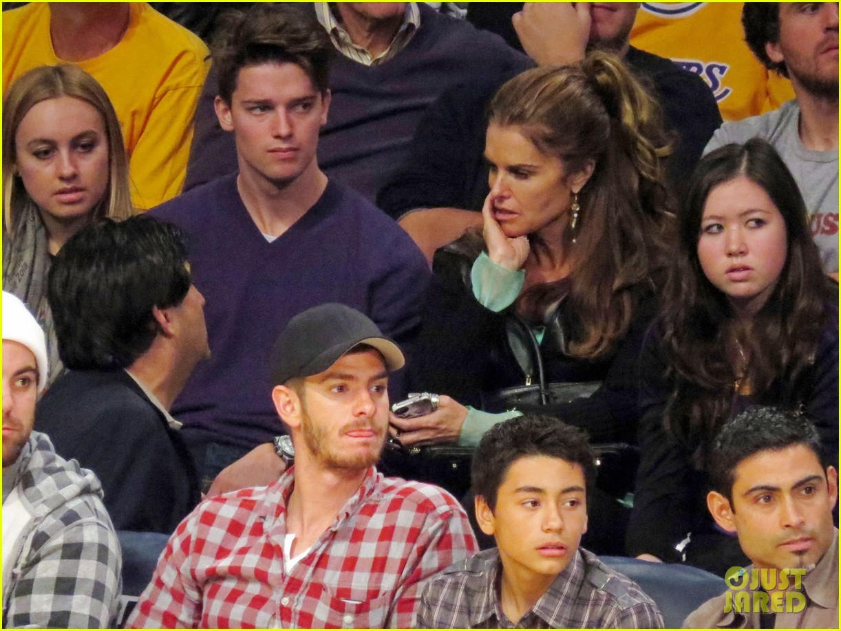 andrew garfield patrick schwarzenegger lakers guys 03