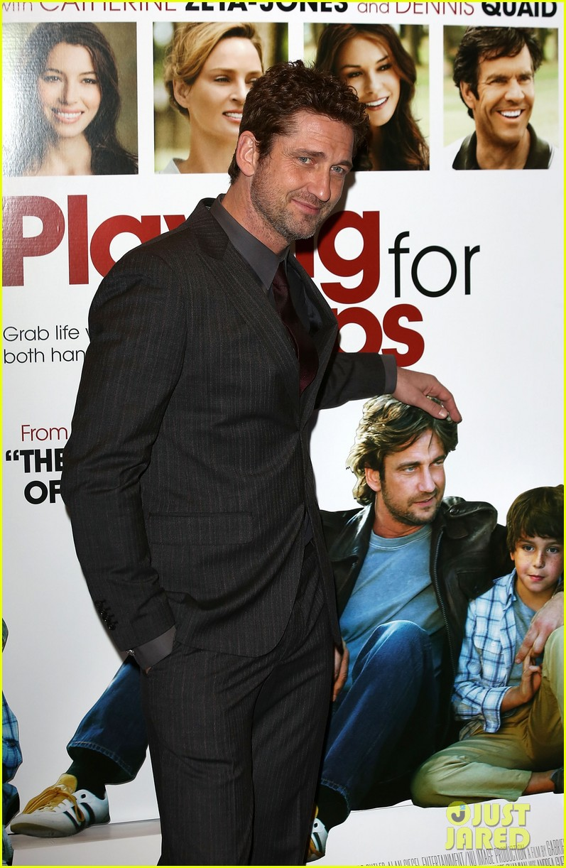 gerard butler playing for keeps london screening 06