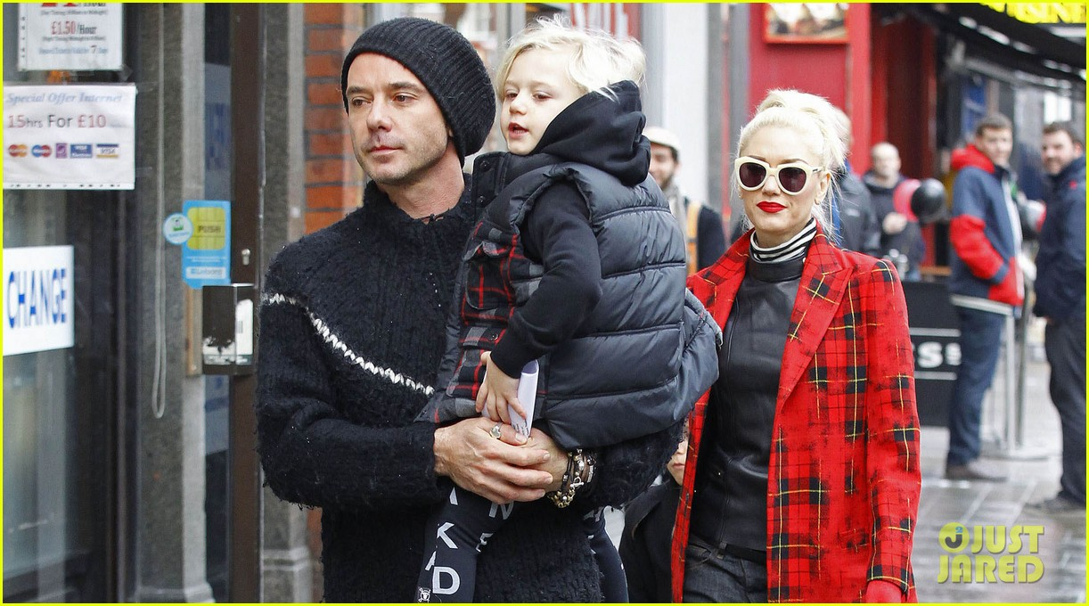 gwen stefani gavin rossdale london family outing 02
