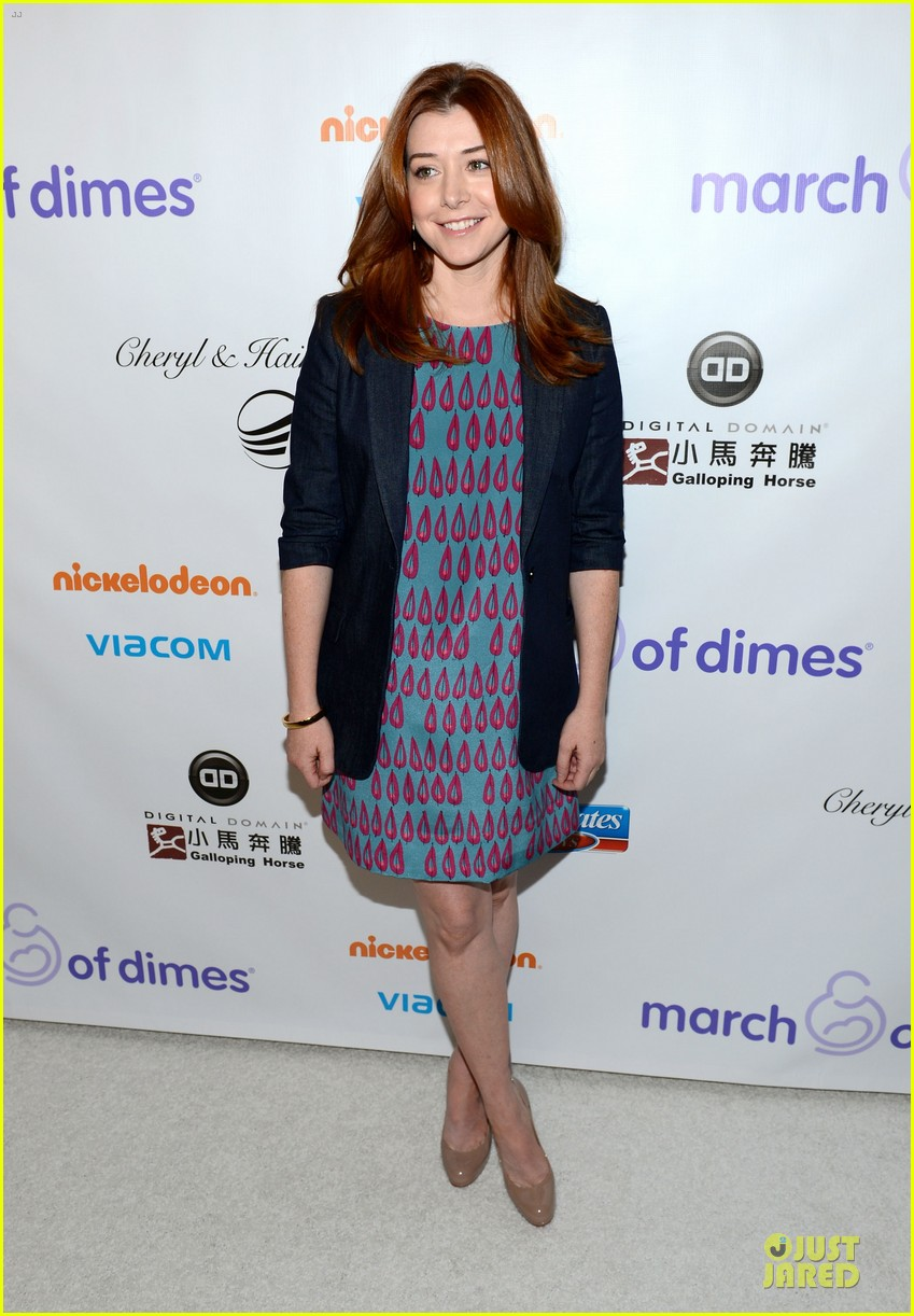 alyson hannigan & tom hanks march of dimes 2012 08