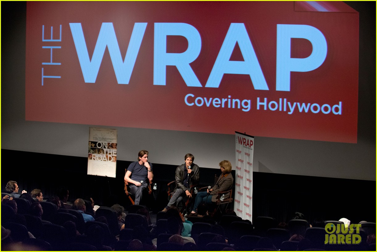 garrett hedlund on the road screening for the wrap 17