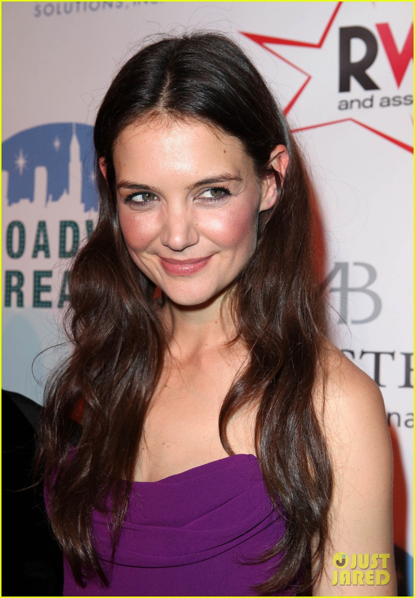 katie holmes broadway dreams foundation gala 08