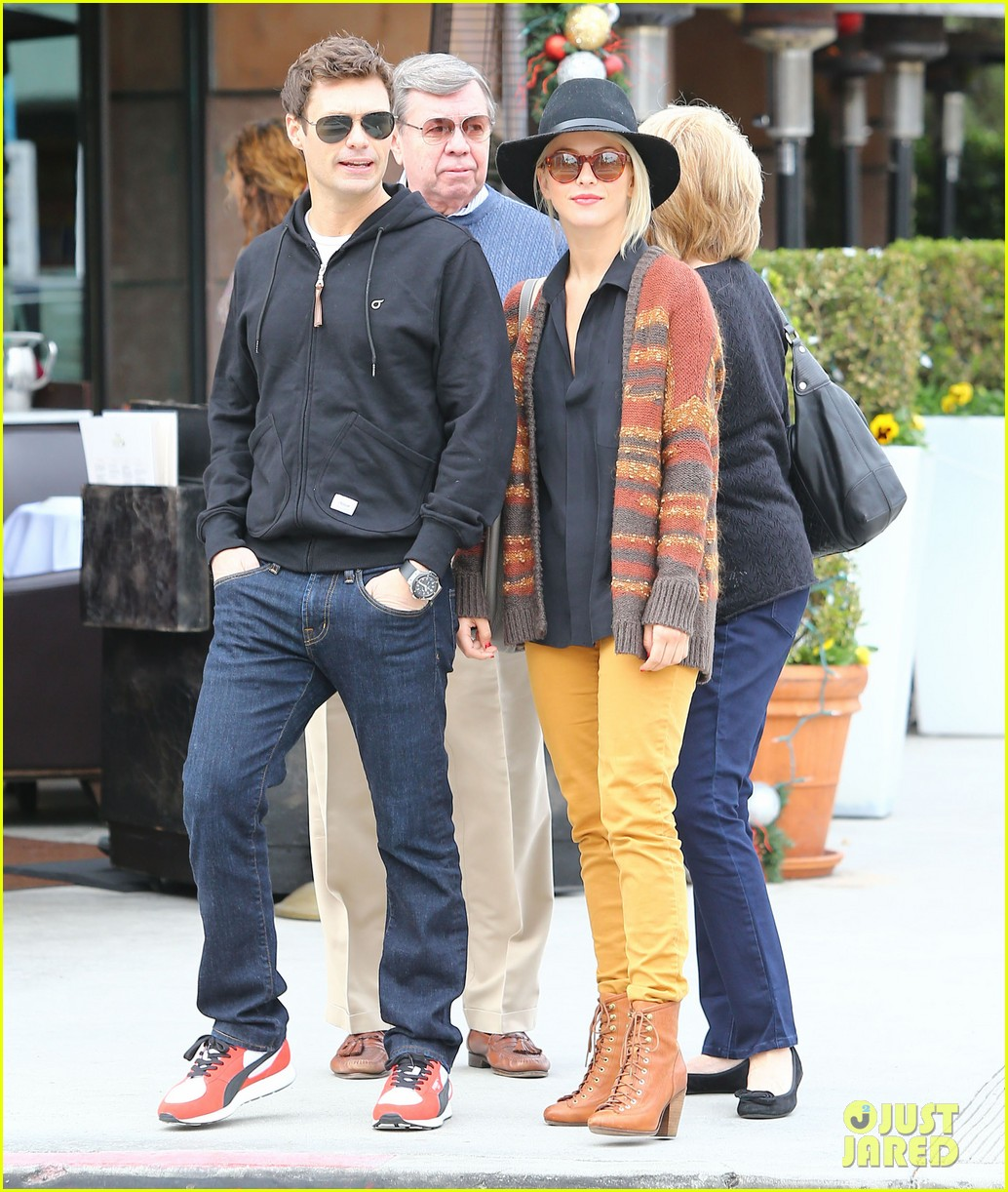 julianne hough ryan seacrest sunny saturday in beverly hills 24