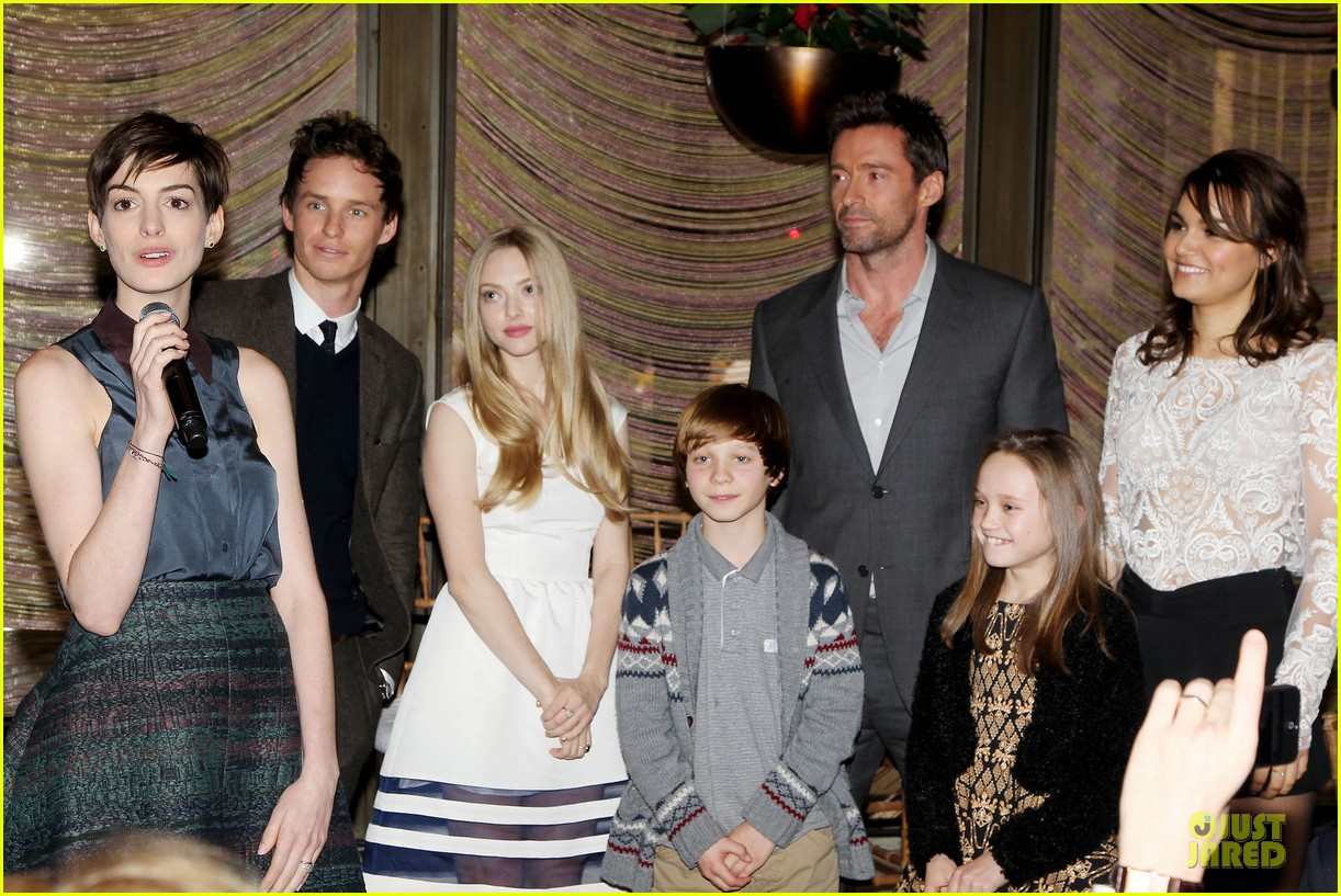 hugh jackman & eddie redmayne les miserables luncheon 34