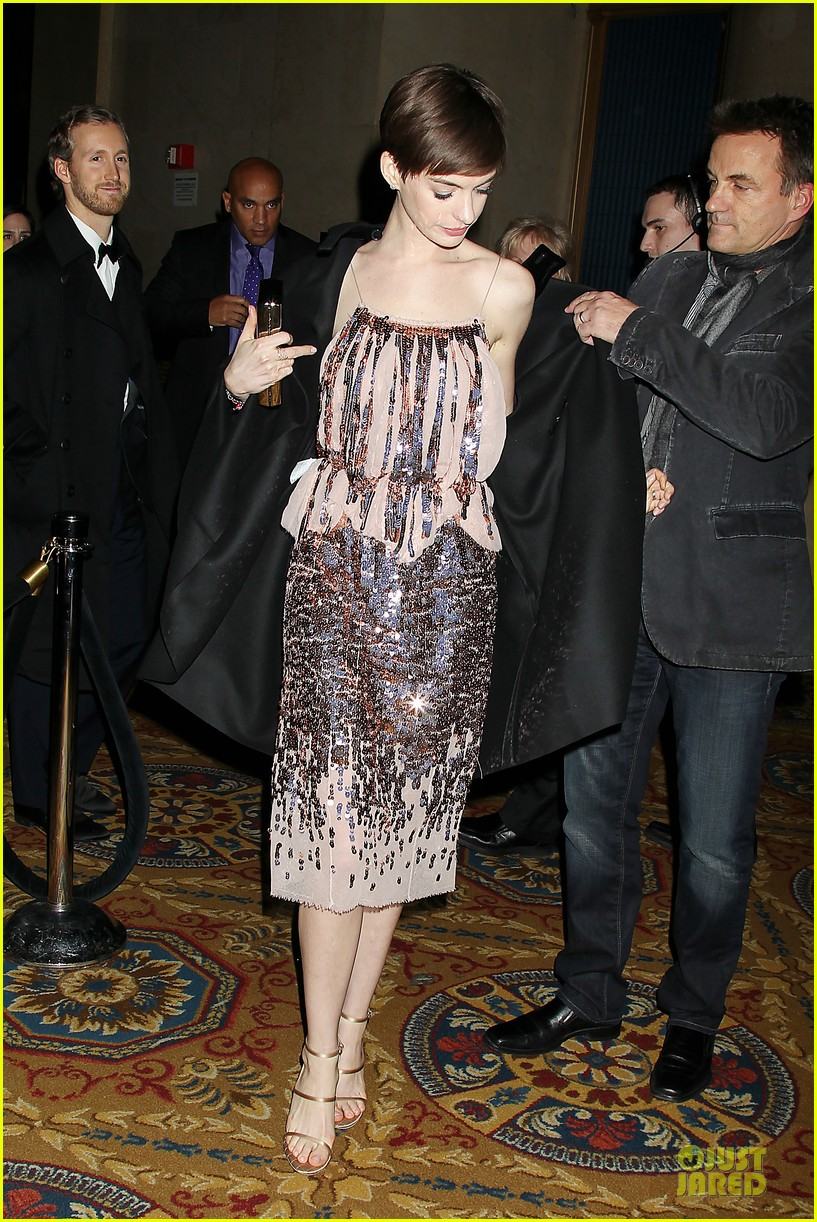 anne hathaway & hugh jackman museum of moving images salute 14