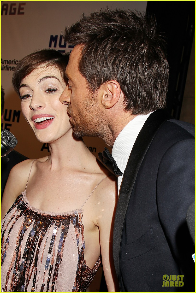 anne hathaway & hugh jackman museum of moving images salute 232774140