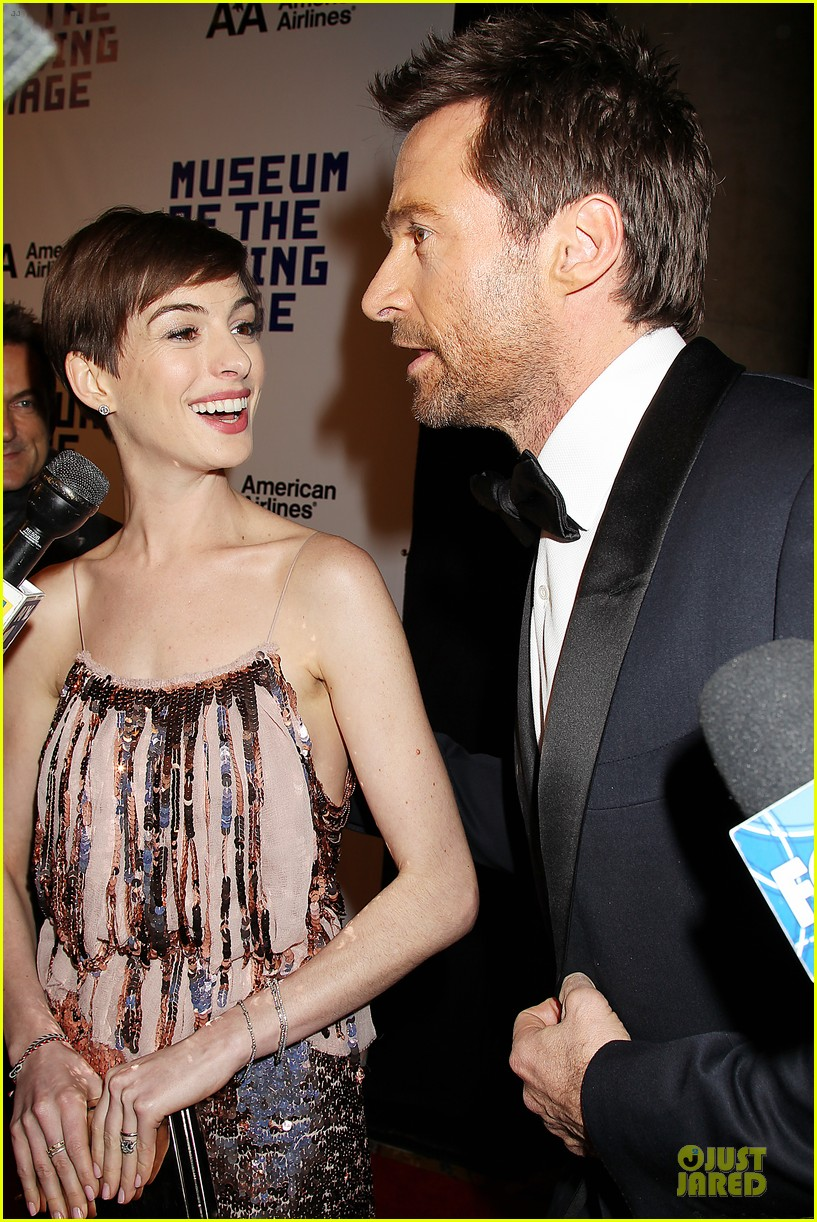 anne hathaway & hugh jackman museum of moving images salute 242774141