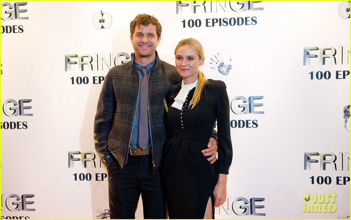 joshua jackson diane kruger fringe 100 episodes party 09