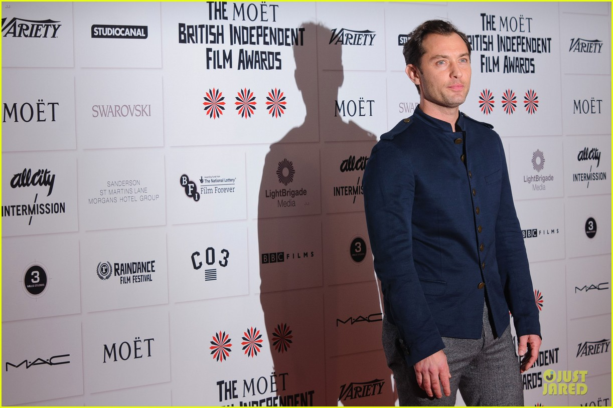 jude law & tom hiddleston british independent film awards 2012 11