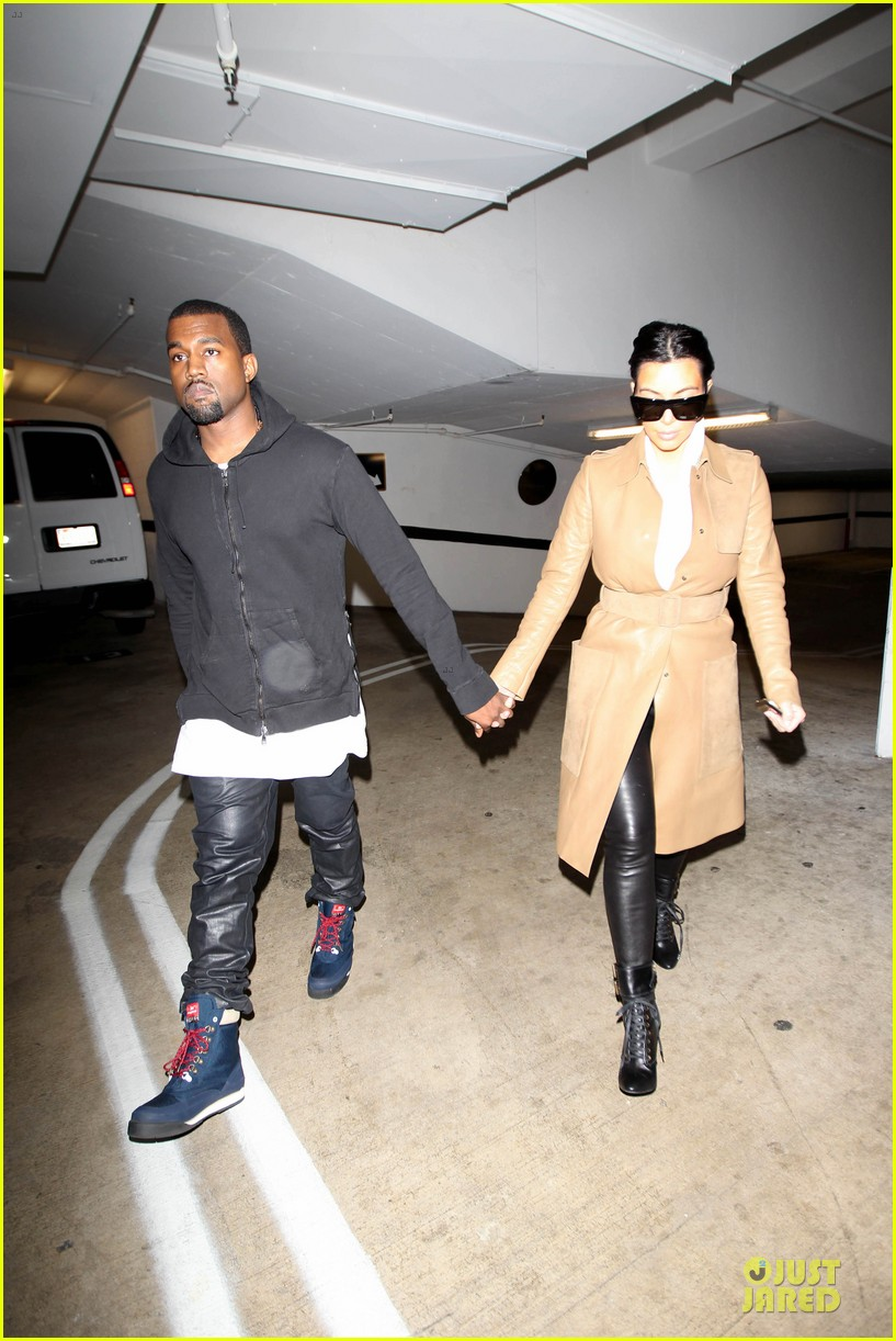 kim kardashian & kanye west beverly hills auctioning couple 03