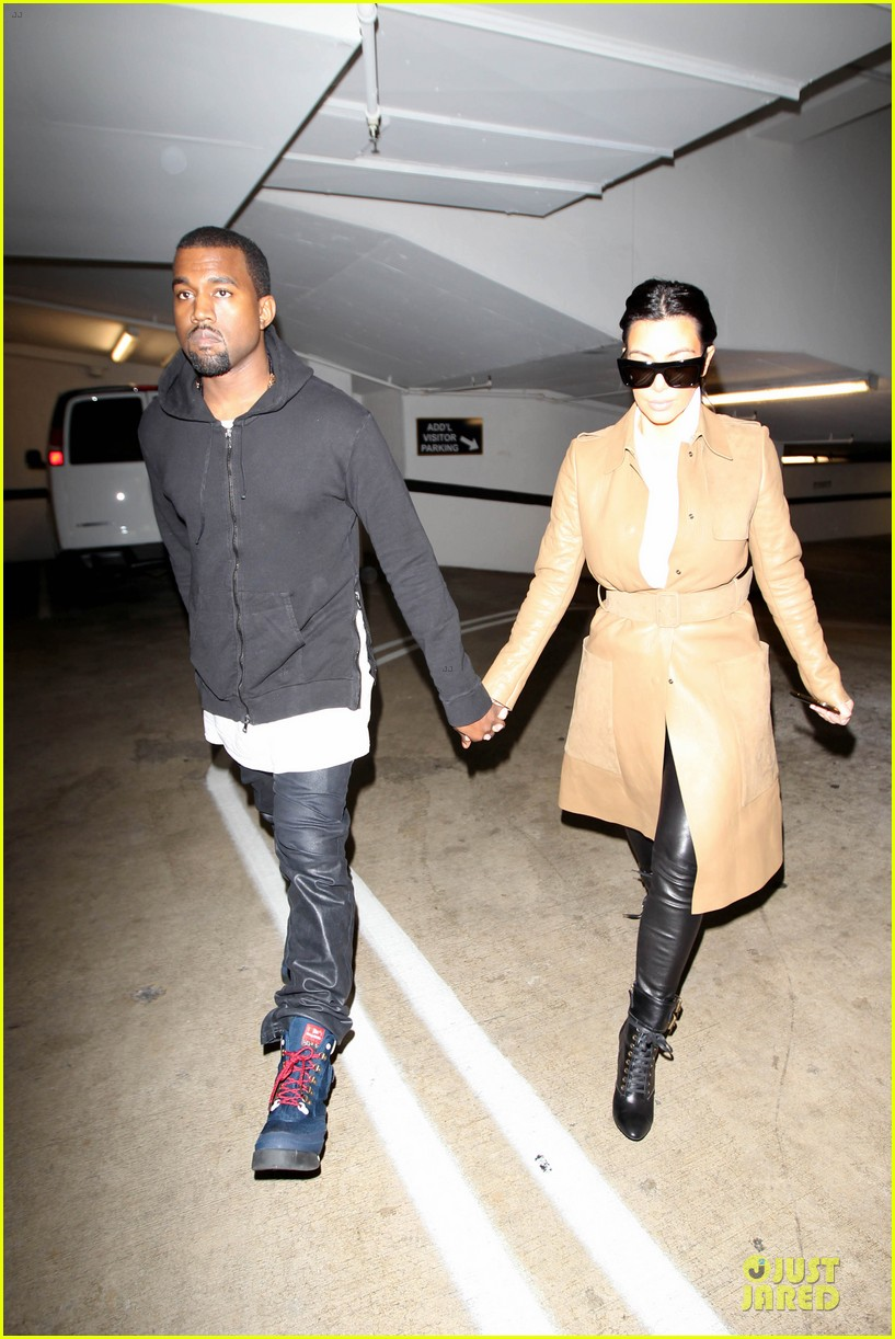 kim kardashian & kanye west beverly hills auctioning couple 12