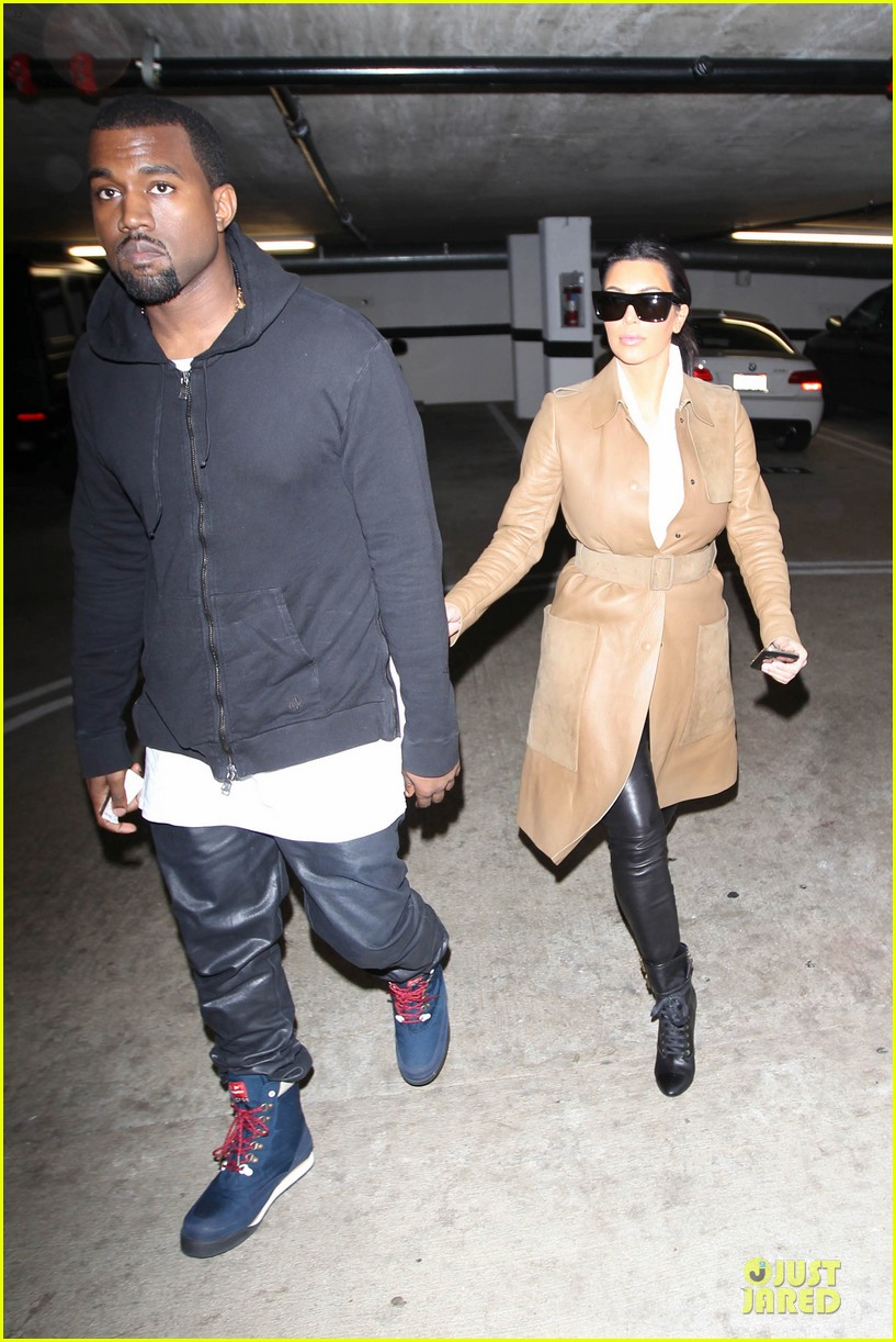 kim kardashian & kanye west beverly hills auctioning couple 132779691