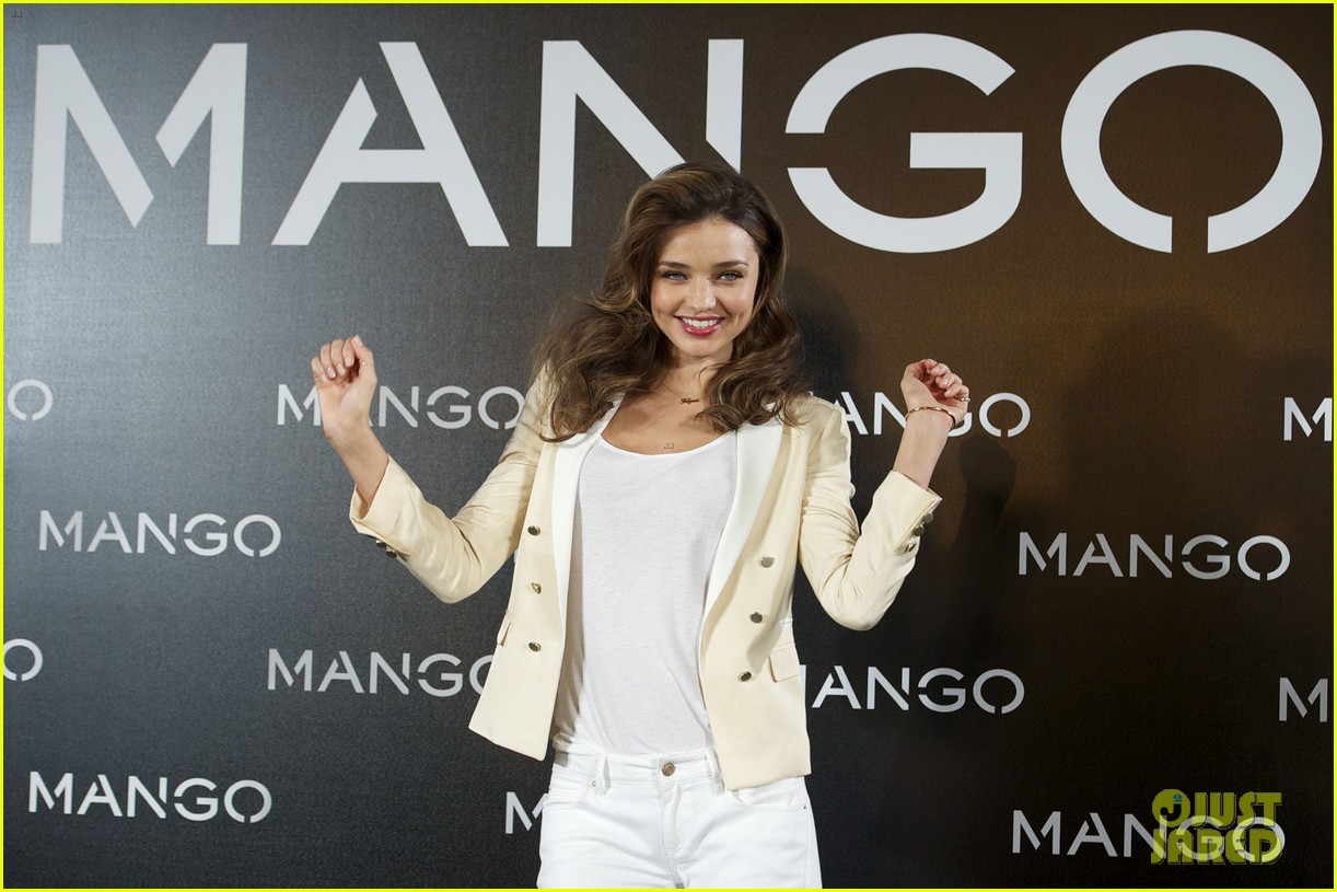 miranda kerr mango madrid photo call 04