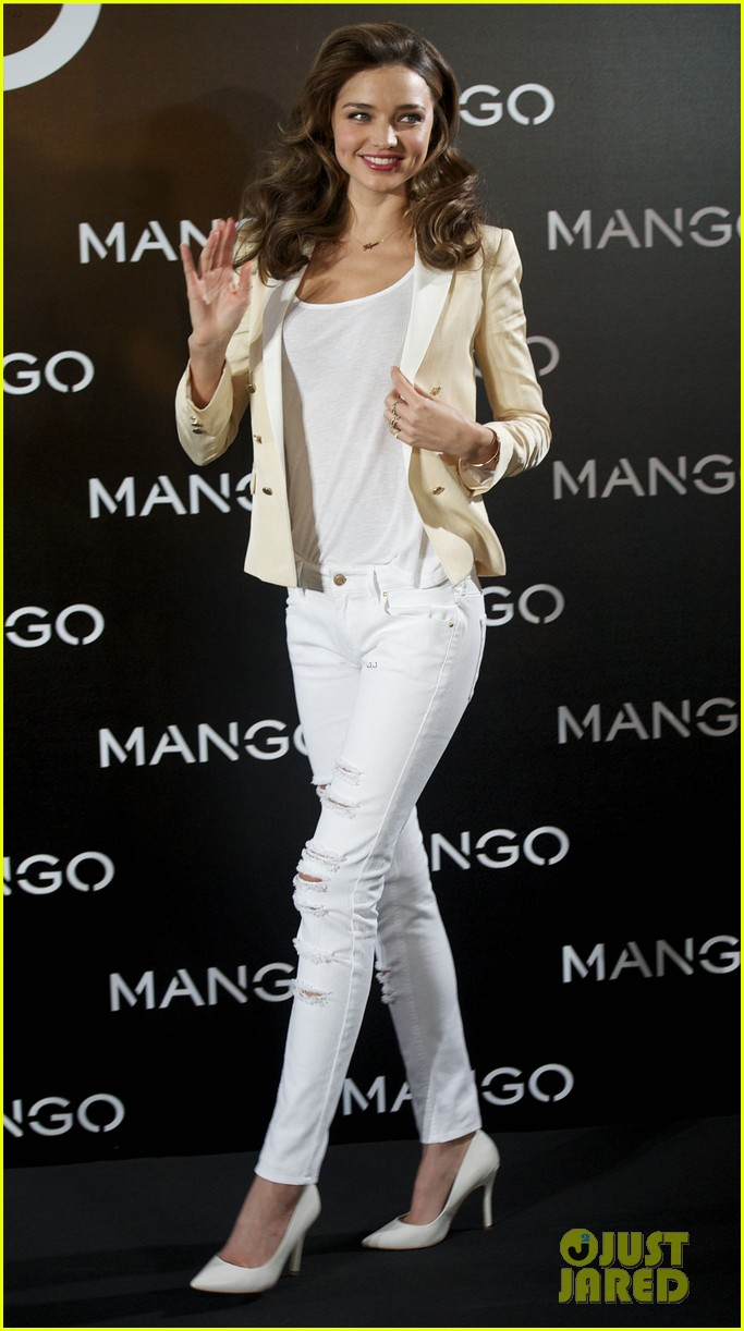 miranda kerr mango madrid photo call 082773589