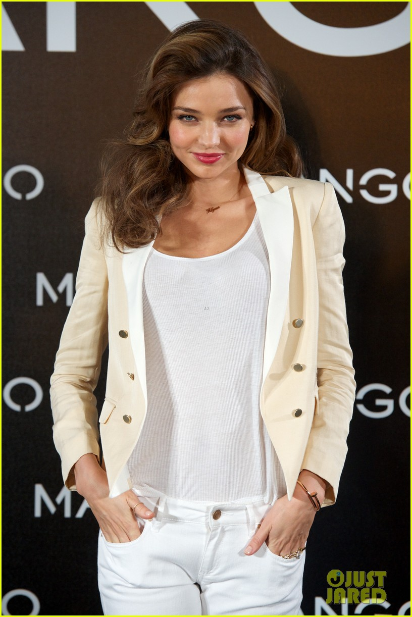 miranda kerr mango madrid photo call 09