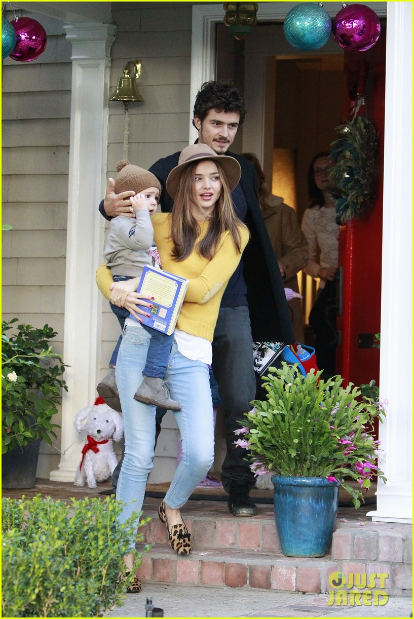 miranda kerr orlando bloom flynn post christmas party 152781165