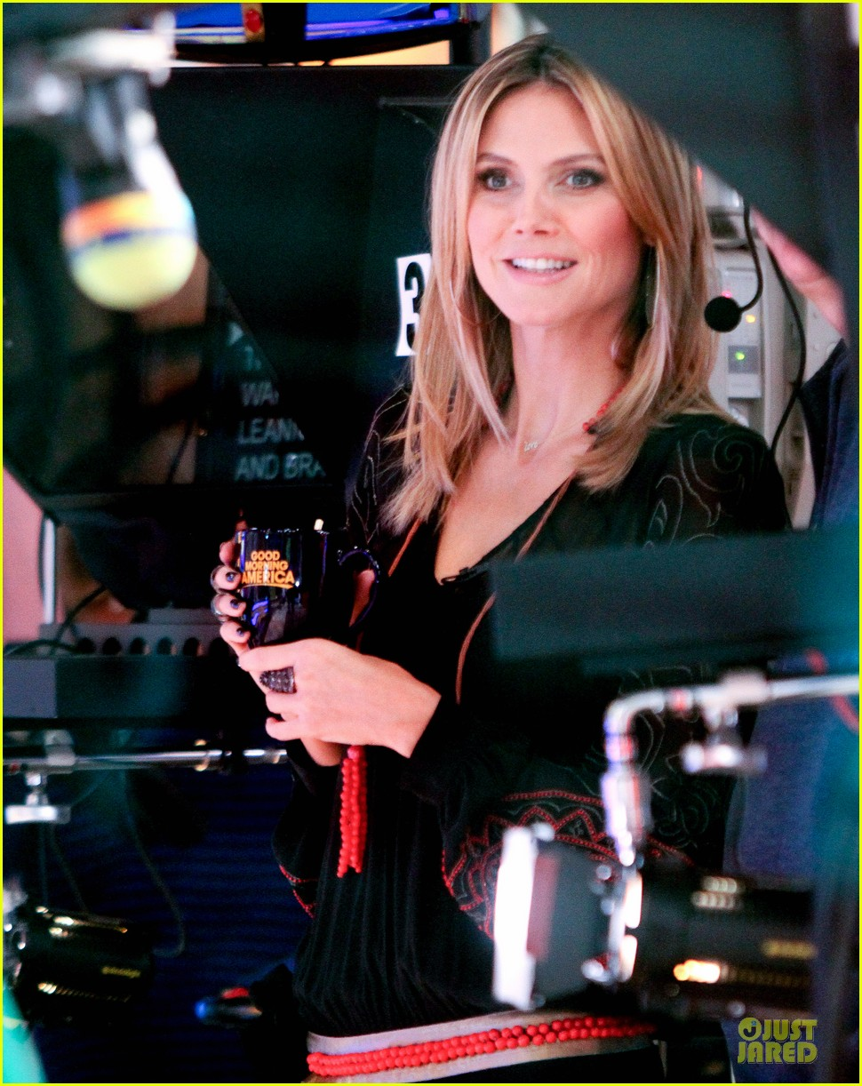 heidi klum good morning america appearance 062769240