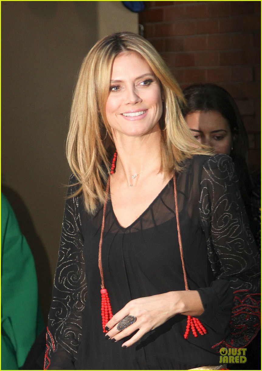 heidi klum good morning america appearance 14