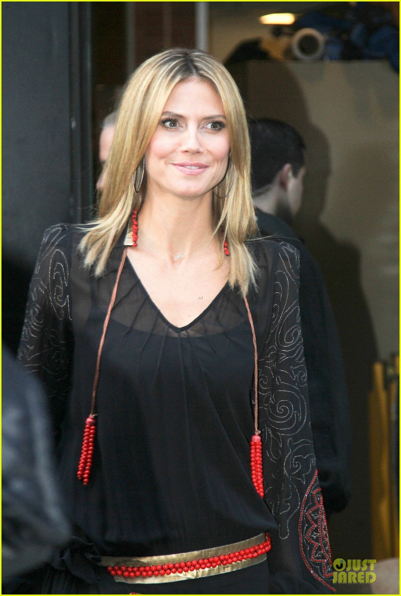 heidi klum good morning america appearance 17
