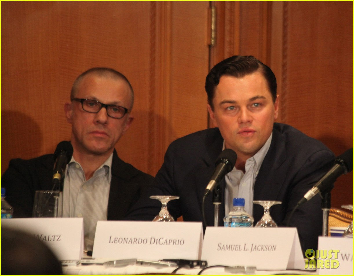 leonardo dicaprio kerry washington django unchained press conference 02