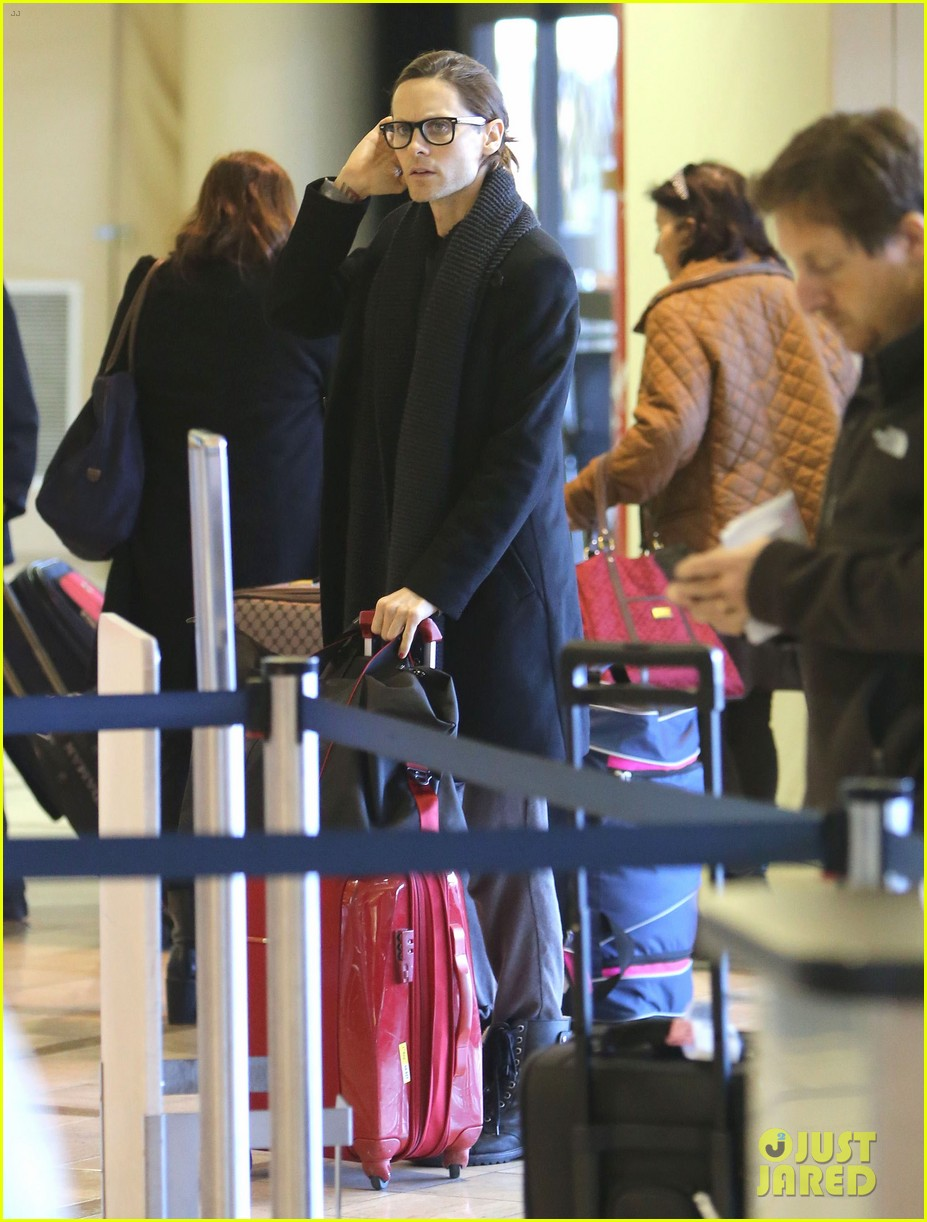 jared leto from lax to new orleans 08