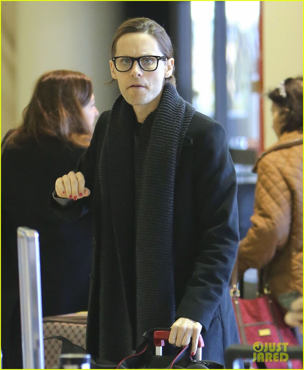 jared leto from lax to new orleans 11