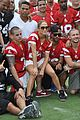 jennifer lopez charity football match with the family 01