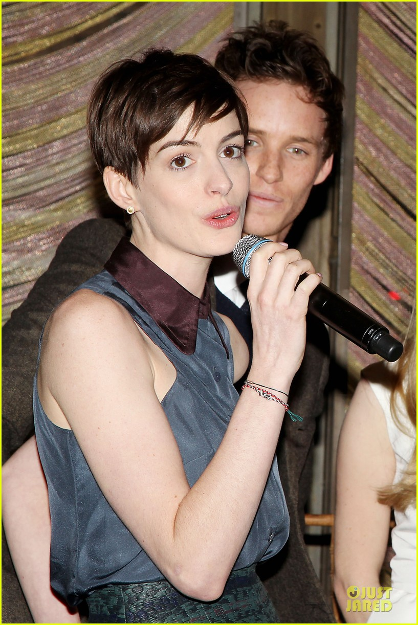 anne hathaway & amanda seyfriend les miserables luncheon 252773997