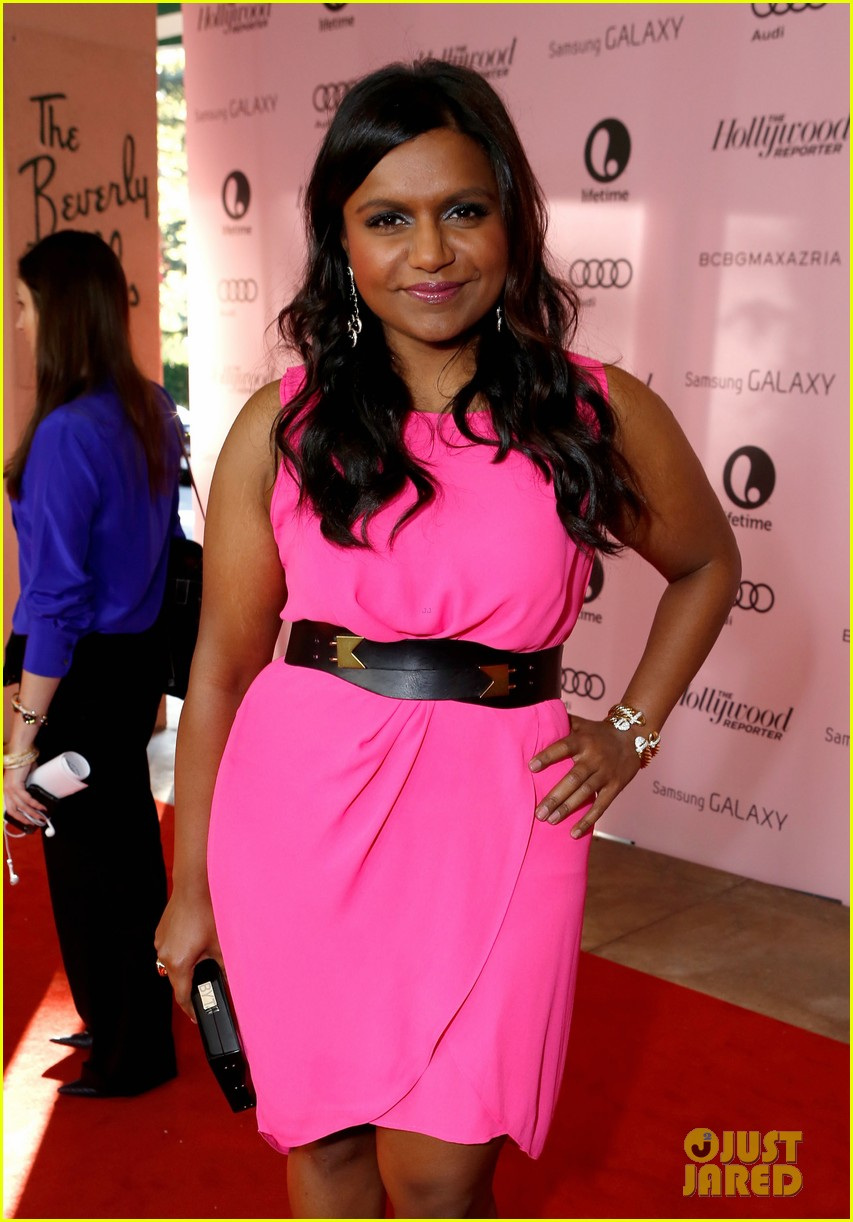mindy kaling ashley madekwe thrs power 100 breakfast 12