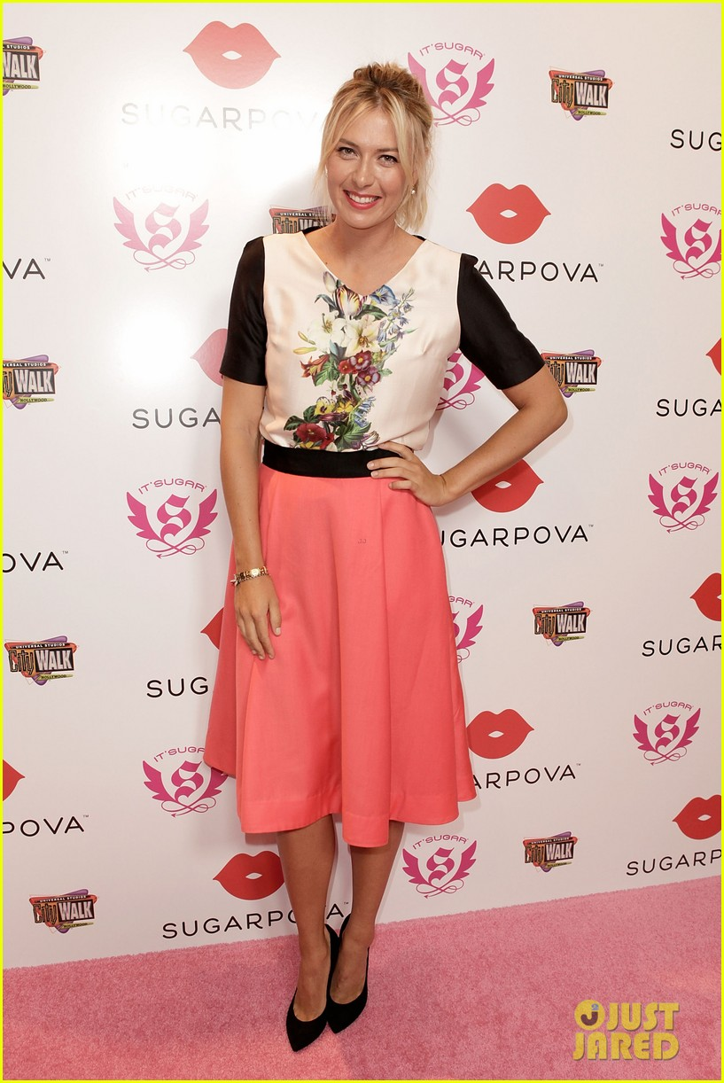 maria sharapova sugarpova candy launch 05