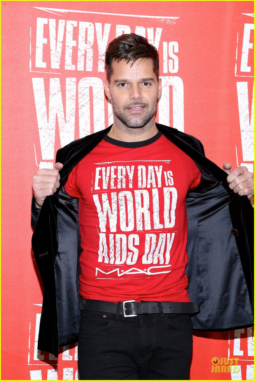 ricky martin world aids day event 11