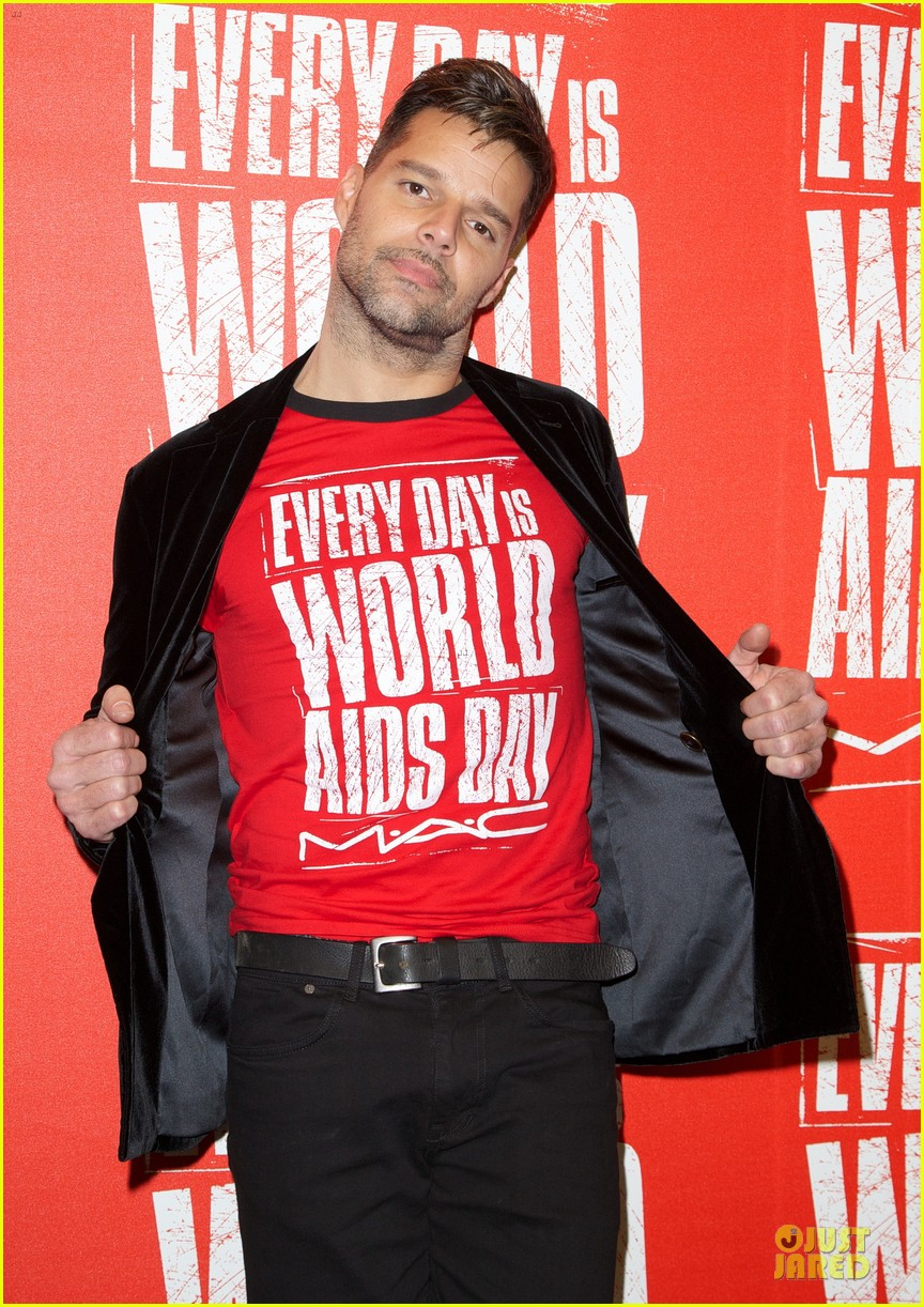 ricky martin world aids day event 12