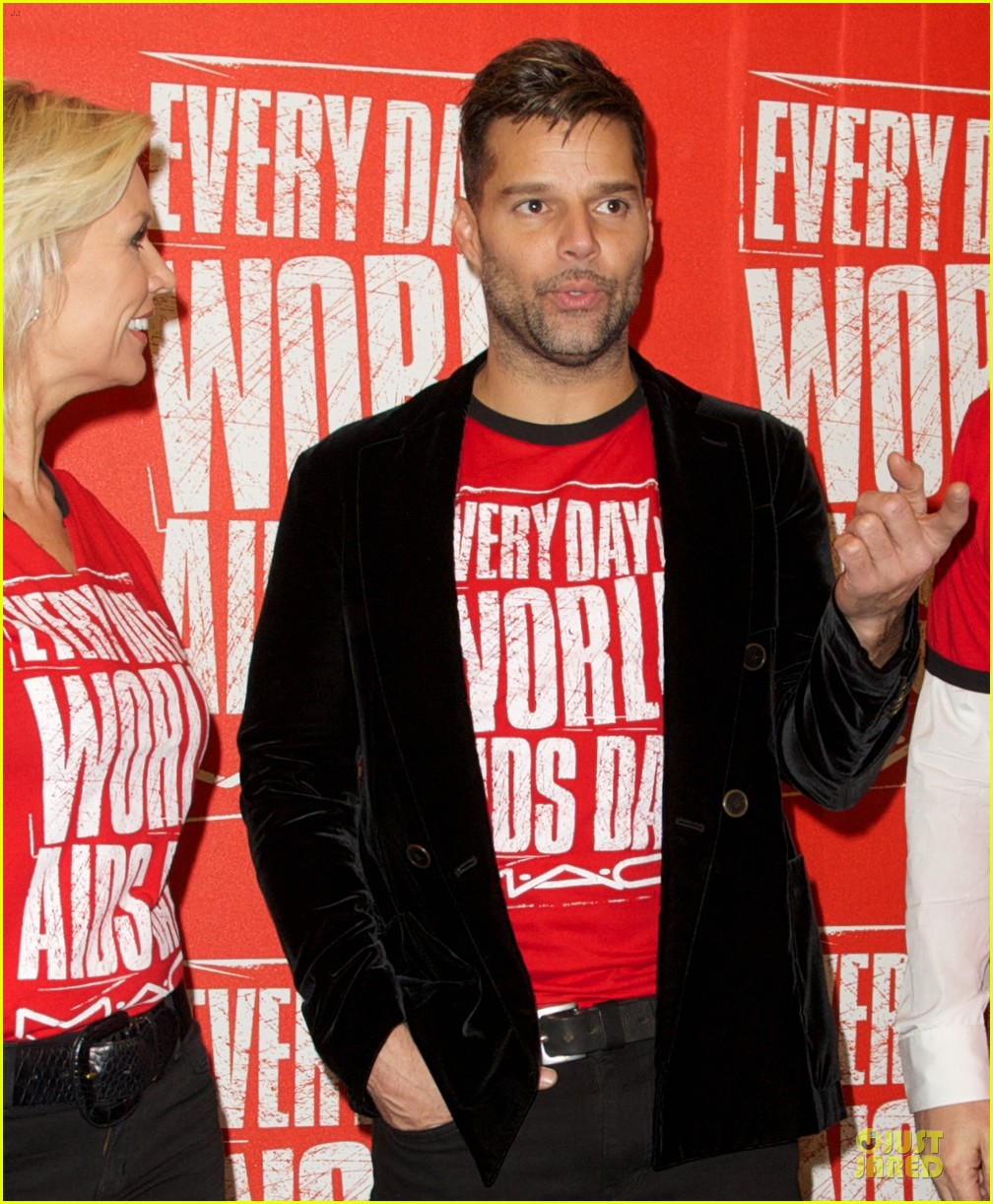 ricky martin world aids day event 19