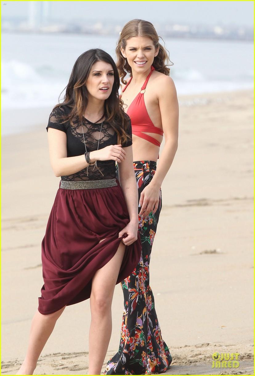 annalynne mccord bikini 90210 filming 09