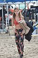 annalynne mccord bikini 90210 filming 13